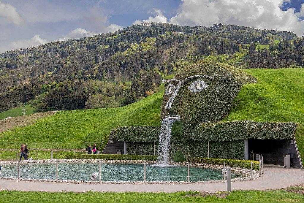 7. Giant Swarovski Crystal Worlds, Wattens, Austria