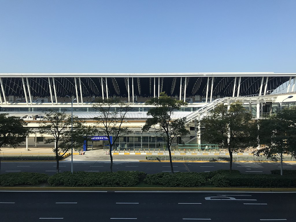 7. Shanghai Pudong International Airport, Pudong - 39.88 sq km
