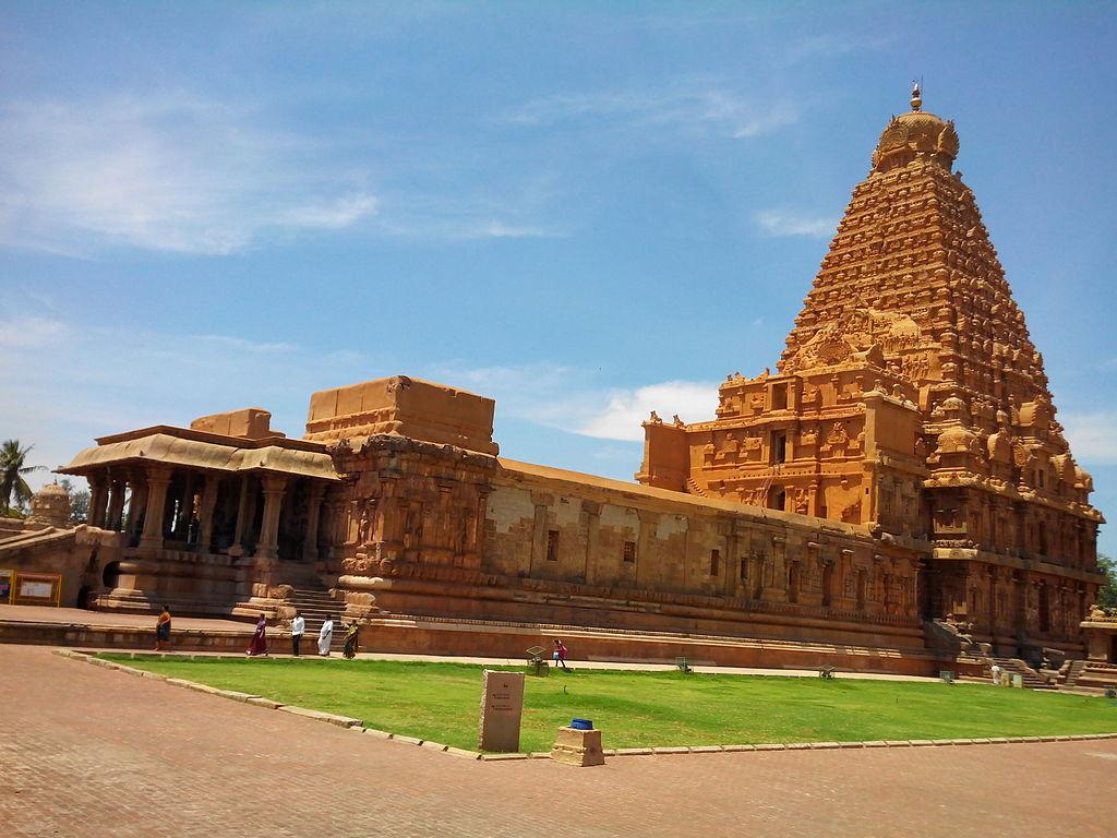 8. Brihadeeswarar Temple, Tamil Nadu, (India)