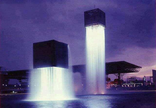 8. Nine Floating Fountains - Osaka, Japan