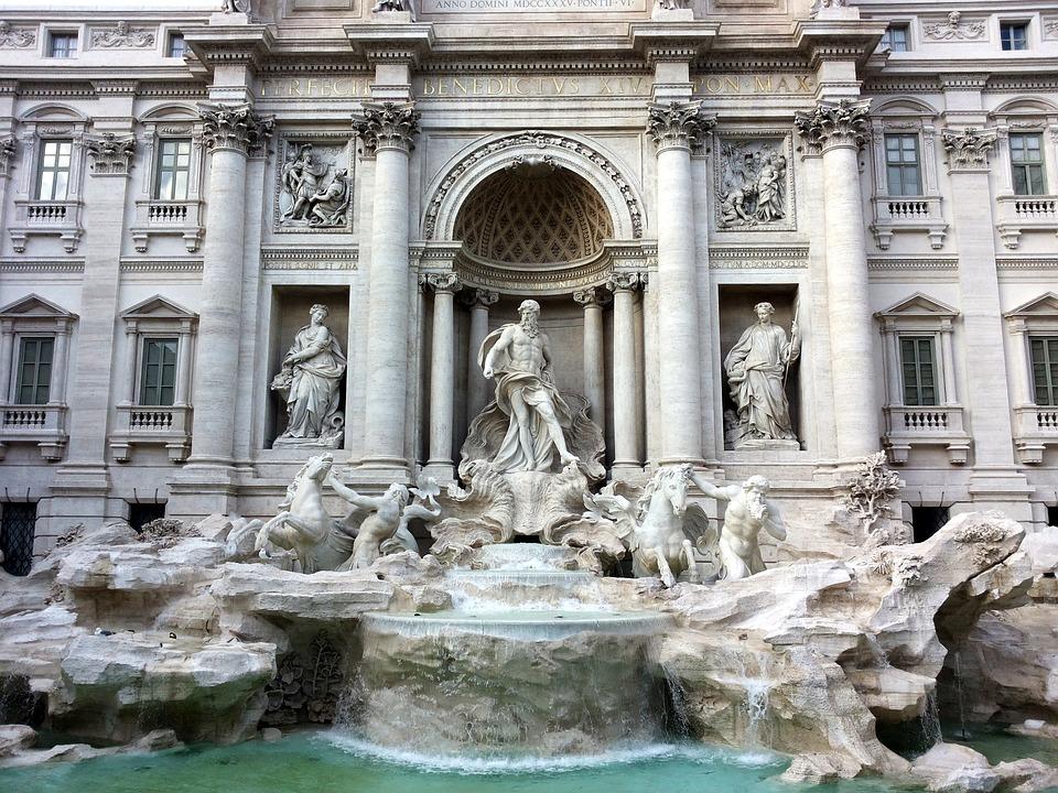 9. Trevi Fountain - Rome, Italy