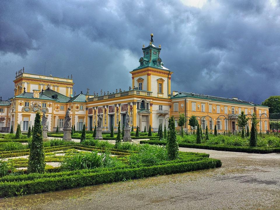 9. Wilanov Palace, Warsaw (Poland)