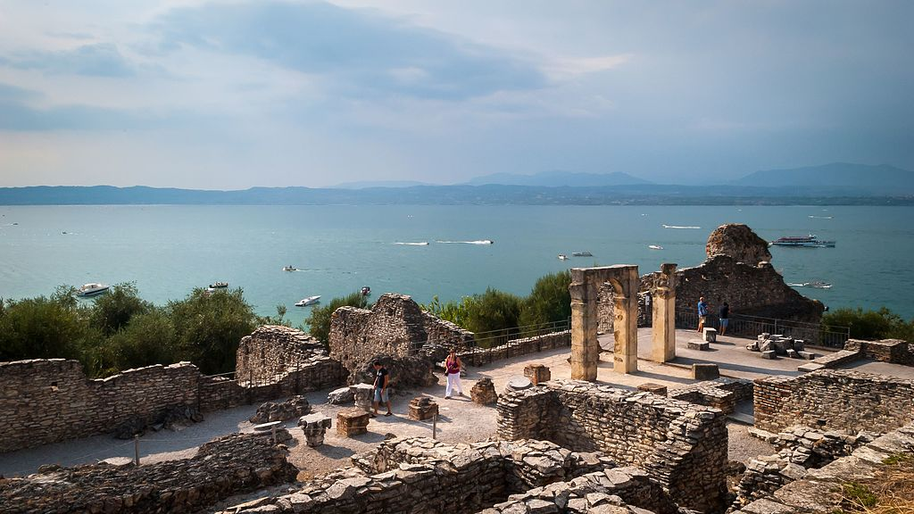Caves of Catullus, Sirmione