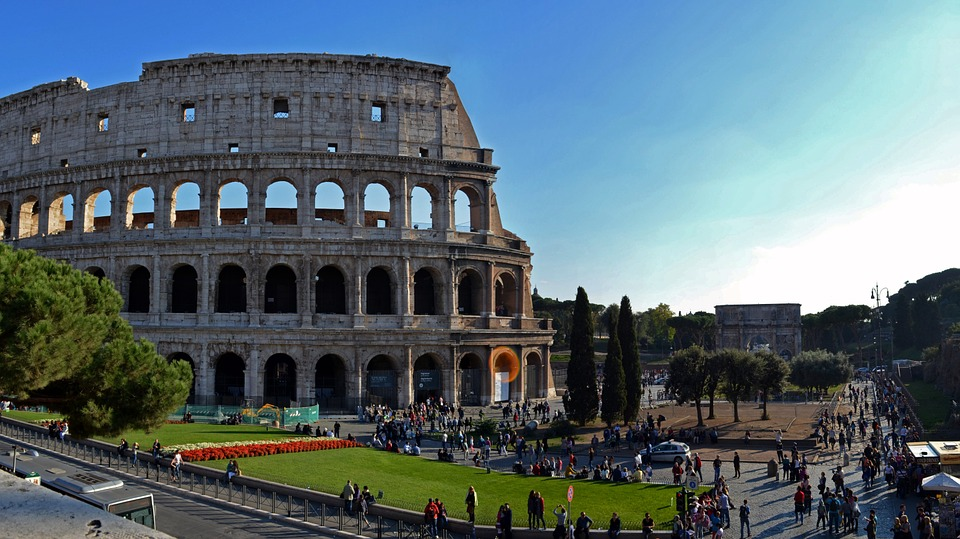 Colosseum and Imperial Forums, Rome