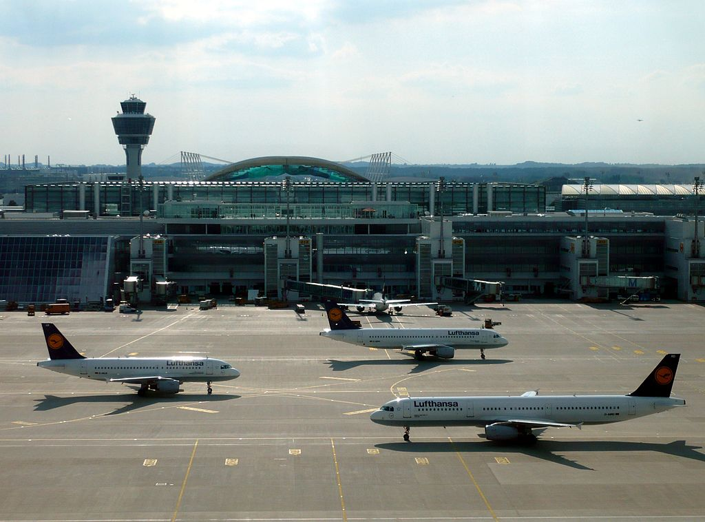München Franz Josef Strauß Airport, Munich