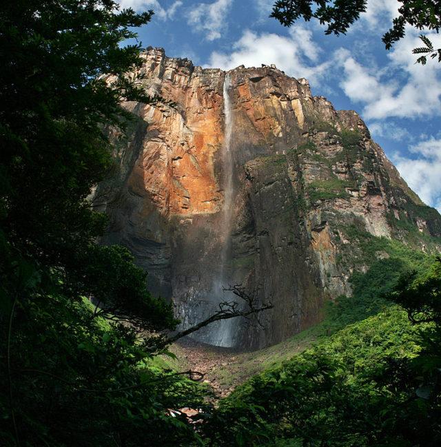 1. Angel Falls: 979 meters