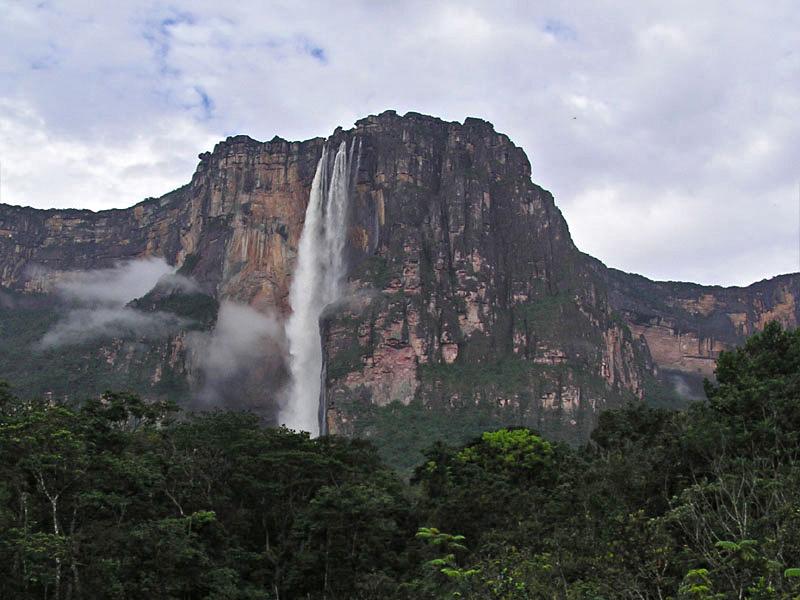 1. Angel Falls, Venezuela