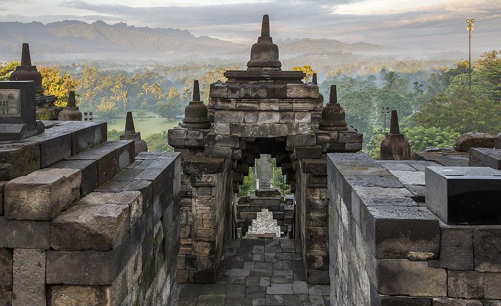 1. Borobudur, Indonesia