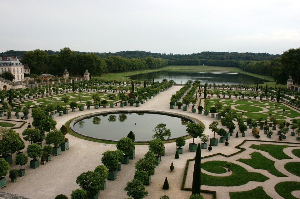 1. Gardens of the Palace of Versailles - France
