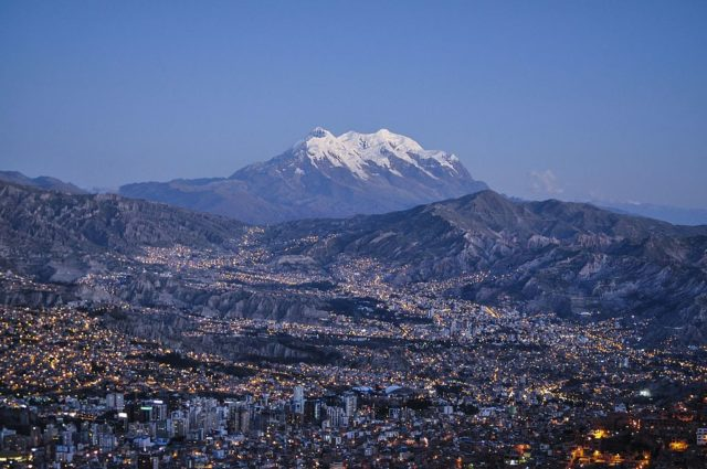1. La Paz (Bolivia) - 3.640 masl