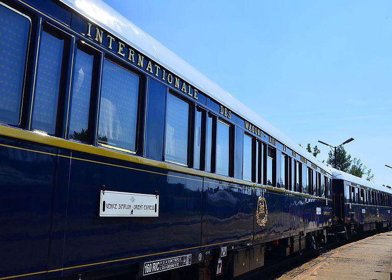 1. Venice-Simplon Orient Express (Europe)