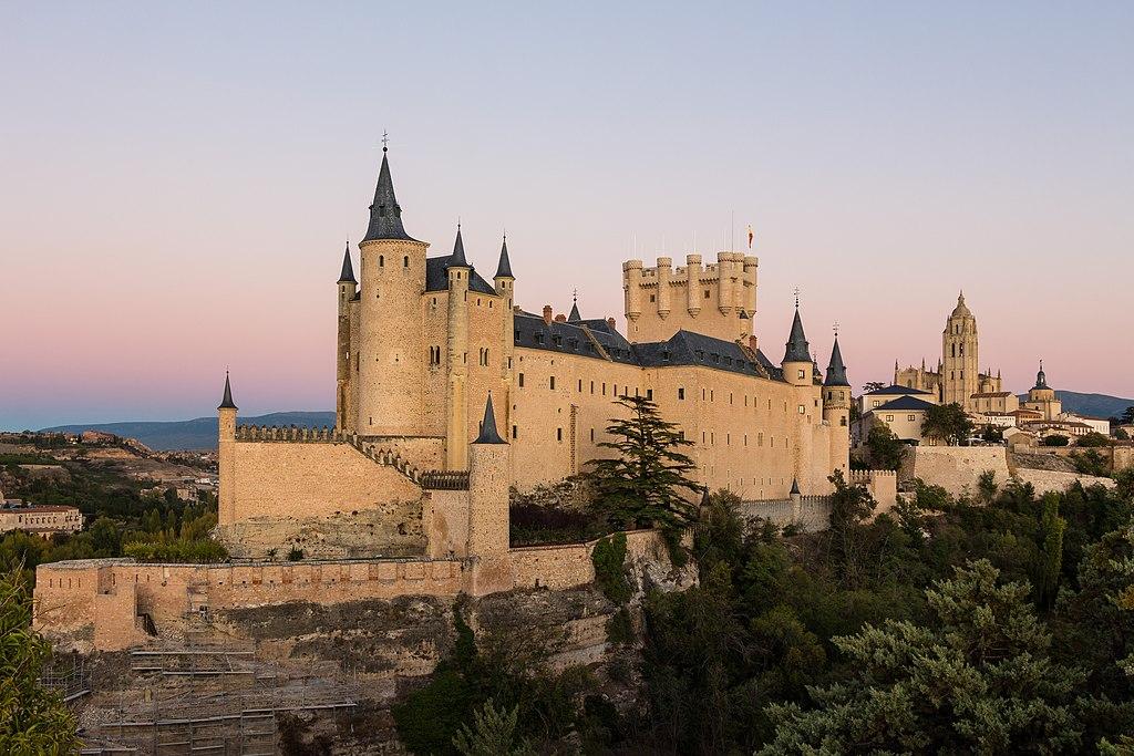 10. Alcàzar of Segovia, Spain