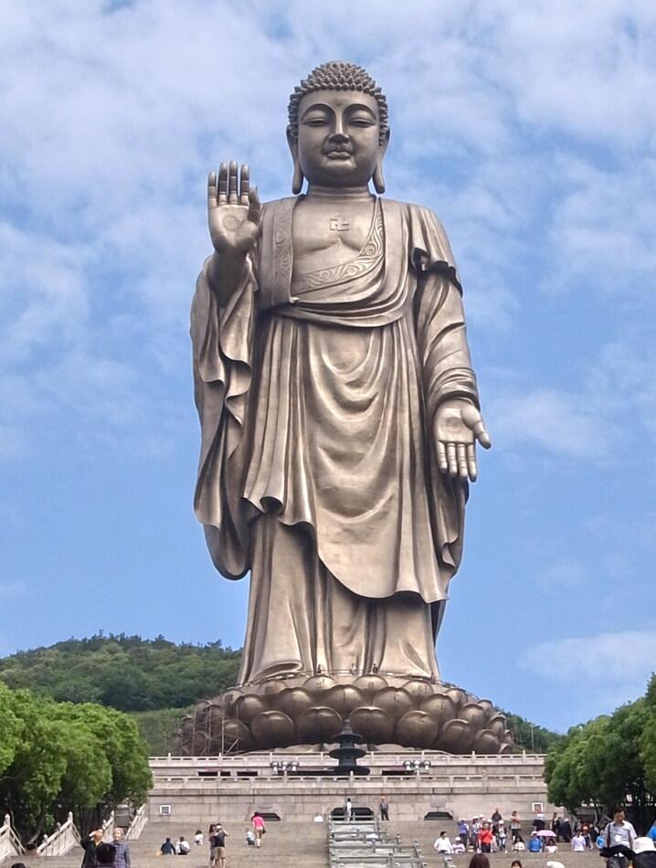 10. Buddha of Ling Shan, China - 88 meters