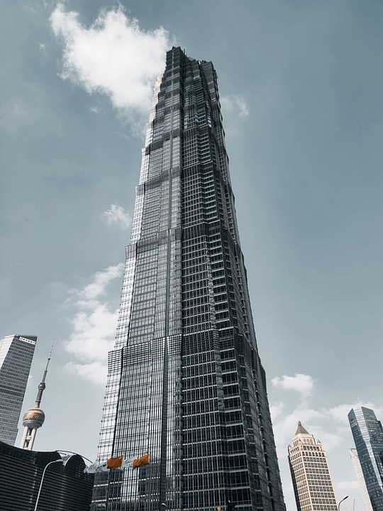 10. Jin Mao Tower, Shanghai, China
