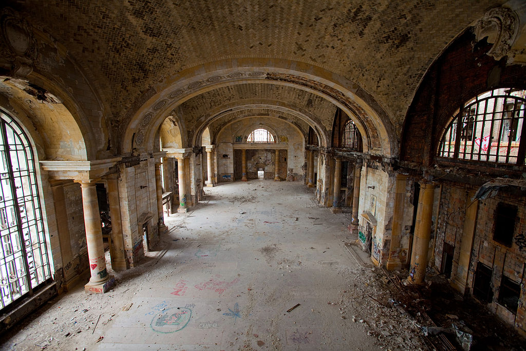 10. Michigan Central Station, United States