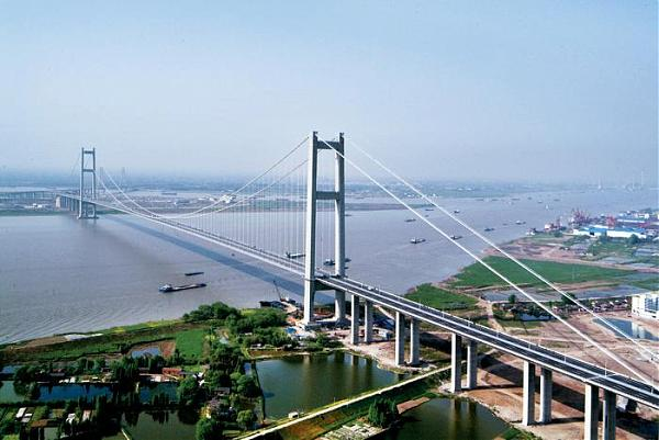 10. Runyang Yangtze River Bridge