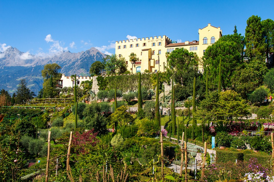 10. The Gardens of Trauttmansdorff Castle - Merano, Italy