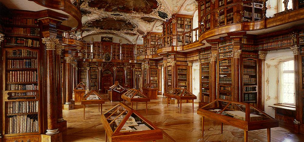 11. Abbey Library of St. Gallen, Switzerland