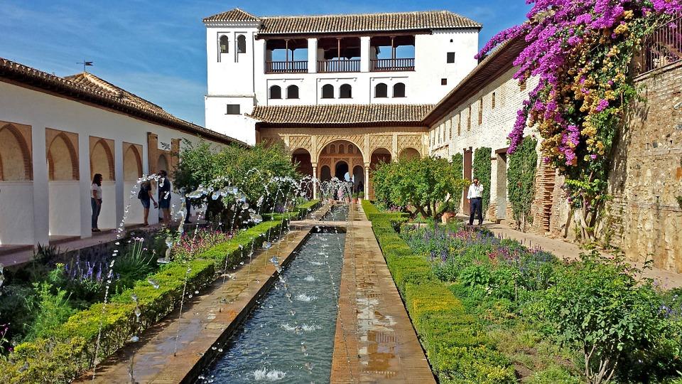 11. Generalife Gardens - Granada, Spain
