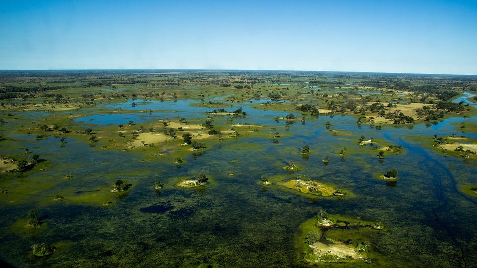 11. Okavango Delta - Botswana, Africa