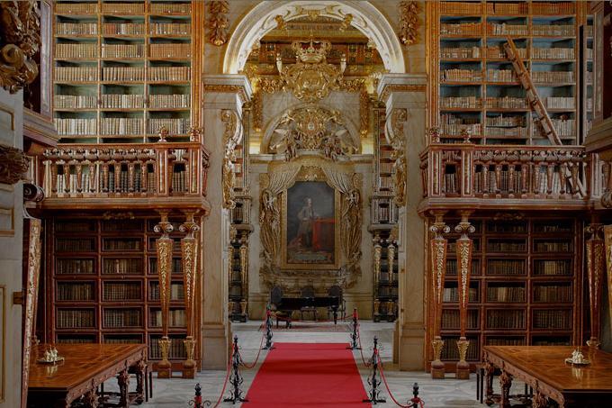 12. Joanina-Coimbra Library, Portugal