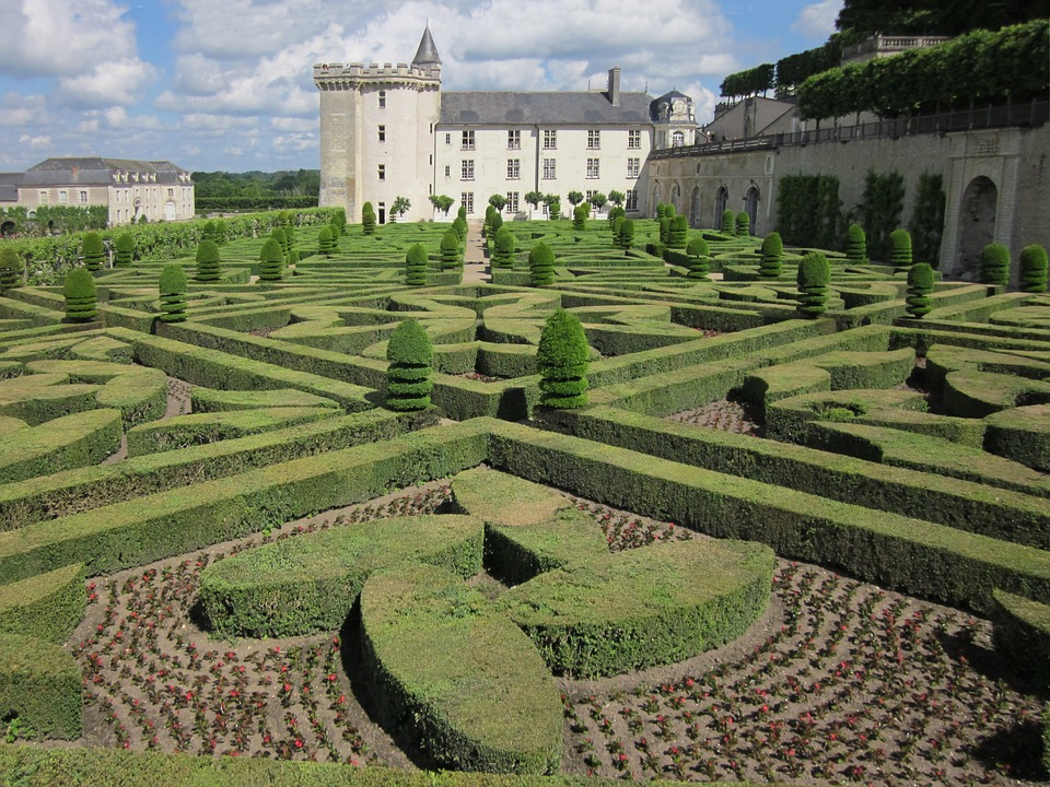 13. Gardens of the Villandry Castle - Loire Valley, France