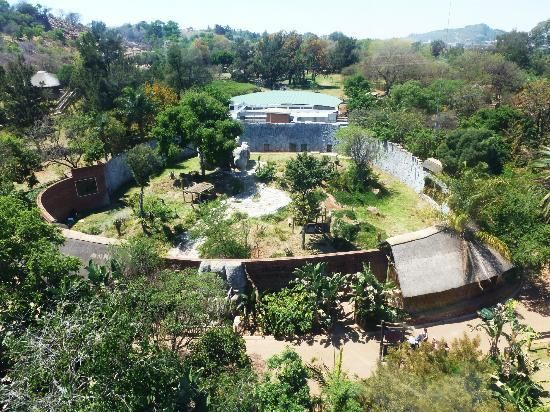 13. National Zoological Gardens of South Africa - 85 hectares