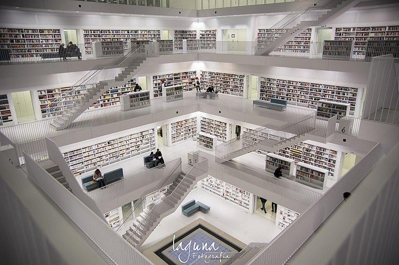 14. Library of Stuttgart, Germany