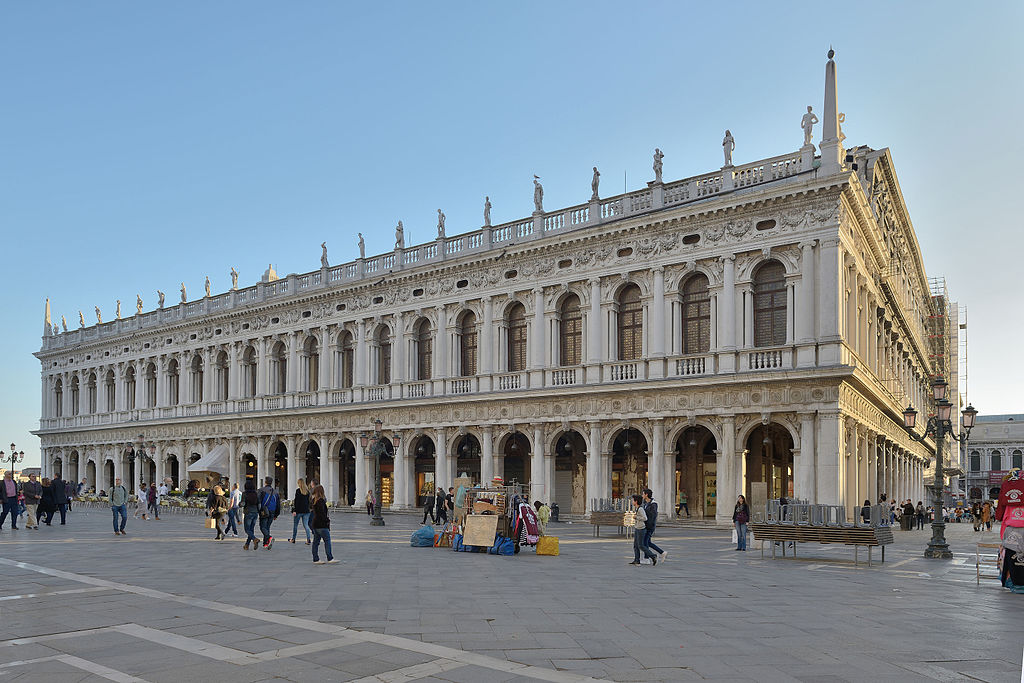 15. Marciana Library of Venice, Italy