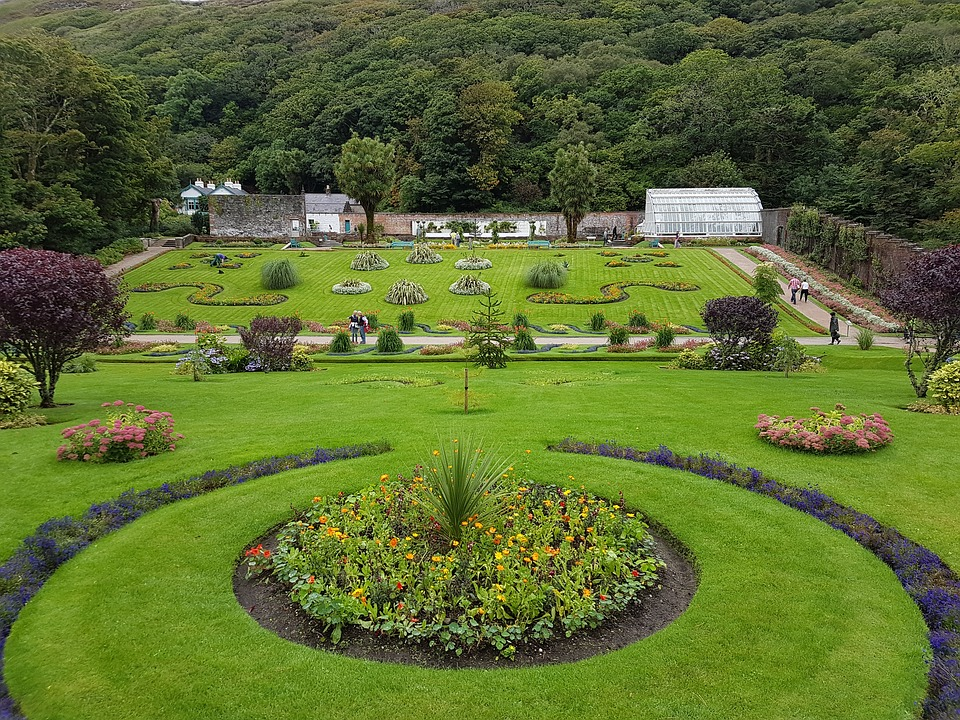 16. Kylemore Abbey Garden - Connemara, Ireland