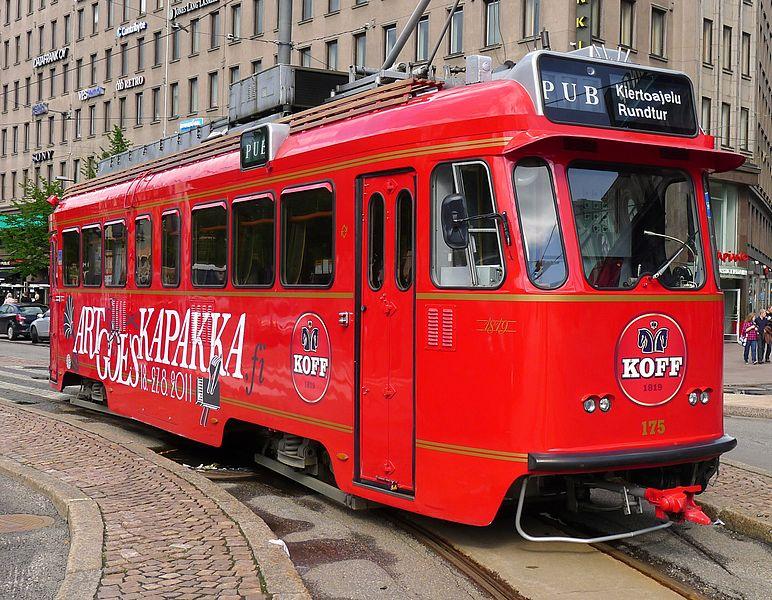 16. Spårakoff Pub Tram, Helsinki, Finland