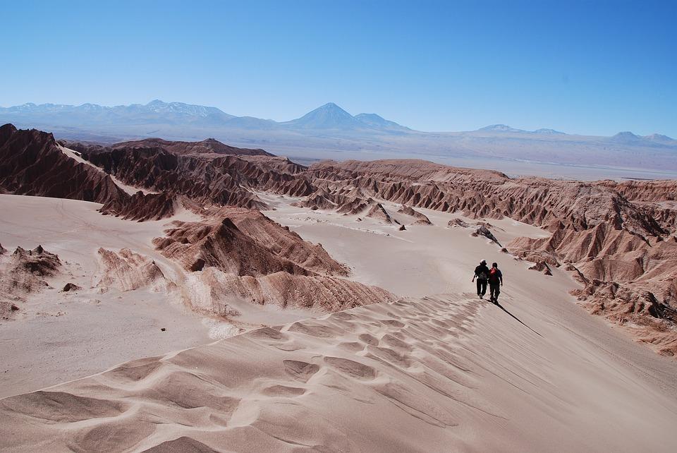 17. Atacama Desert - 105.200 km²