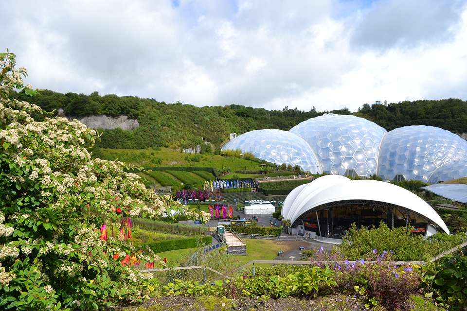 18. Eden Project - Cornwall, UK