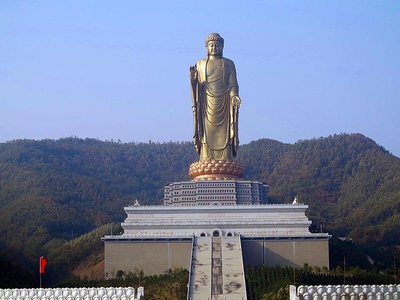 2. Buddha Zhōngyuán or Spring Temple Buddha, China - 128 meters