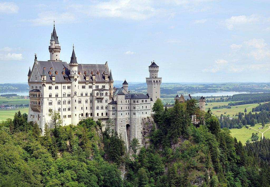 2. Neuschwanstein Castle, Germany