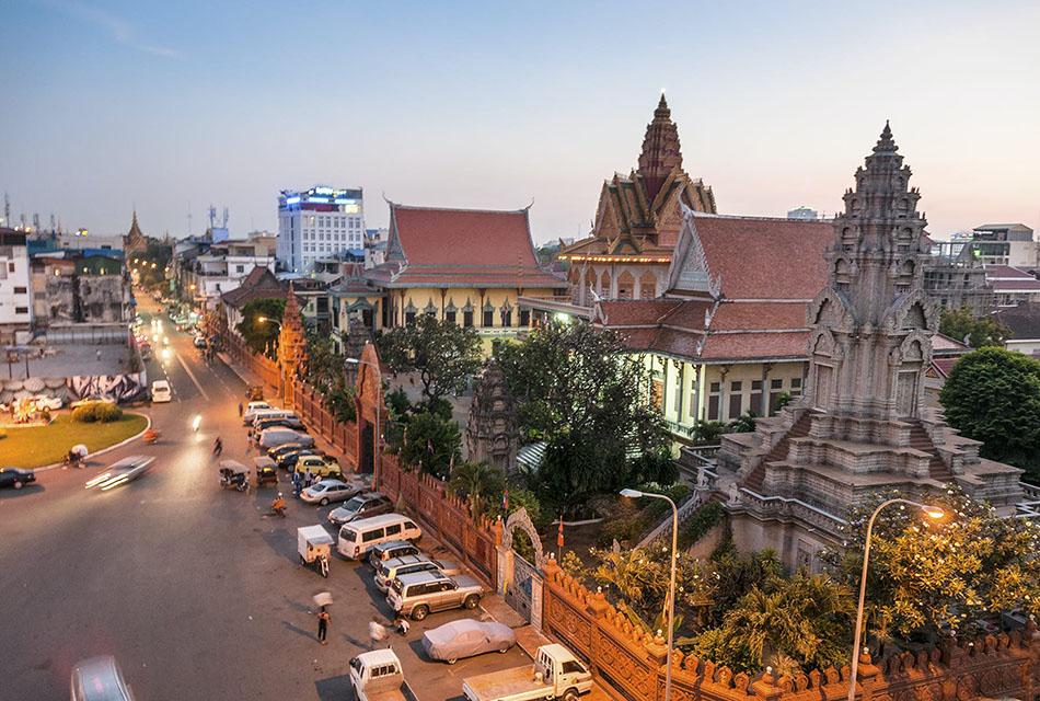 2. Penhom Penh, Cambodia