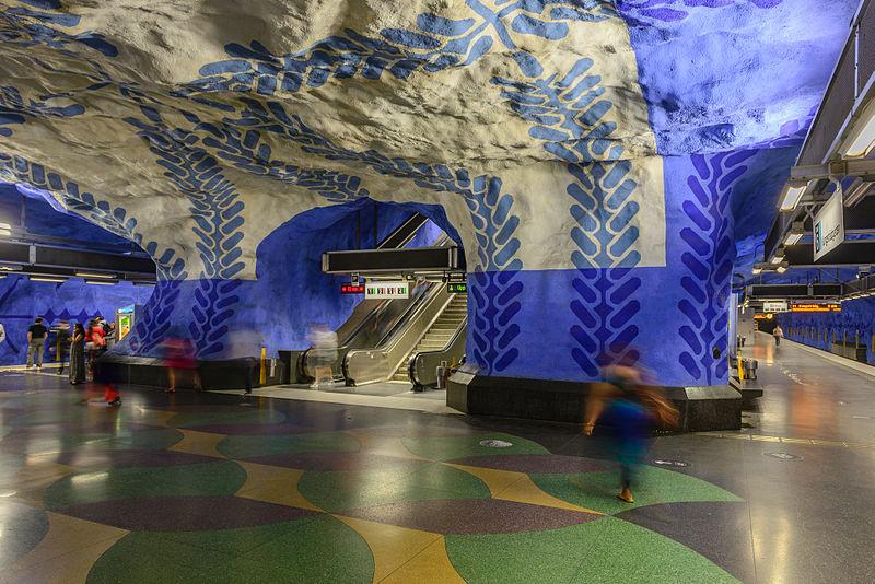 2. T-Centralen station, Stockholm