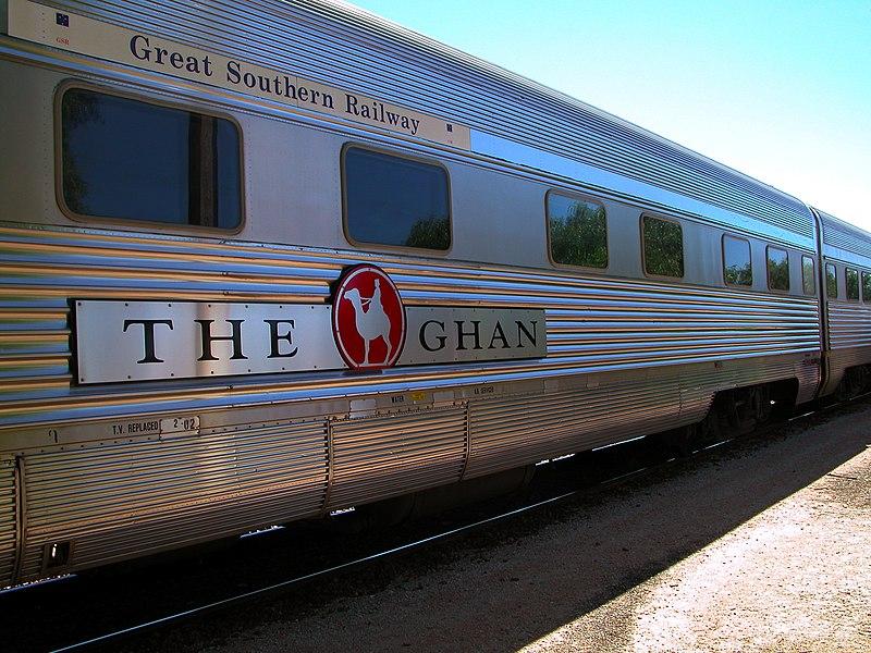 2. The Ghan (Australia)