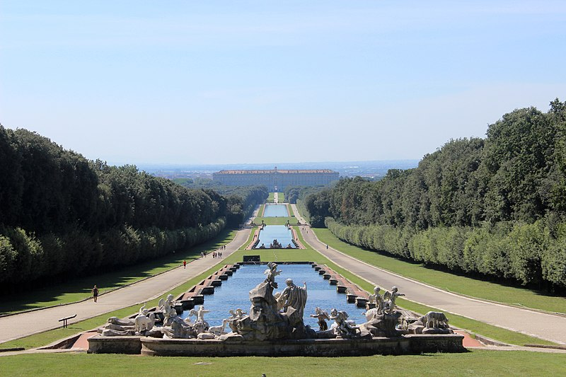 20. English Garden of the Royal Palace of Caserta - Italy