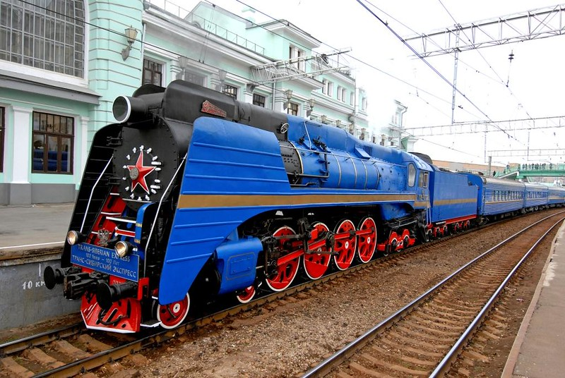 3. Golden Eagle Trans-Siberian Express (Russia-Asia)