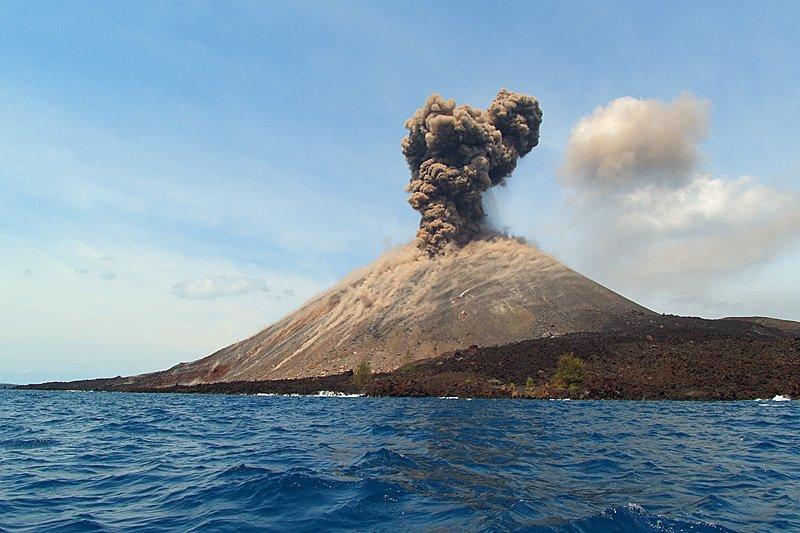3. Krakatoa, Indonesia