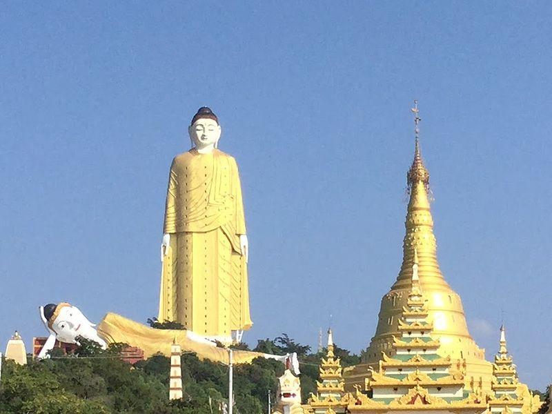 3. Laykyun Setkyar, Burma - 116 meters
