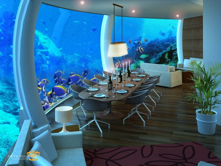 3. Poseidon Undersea Resort, Fiji Islands
