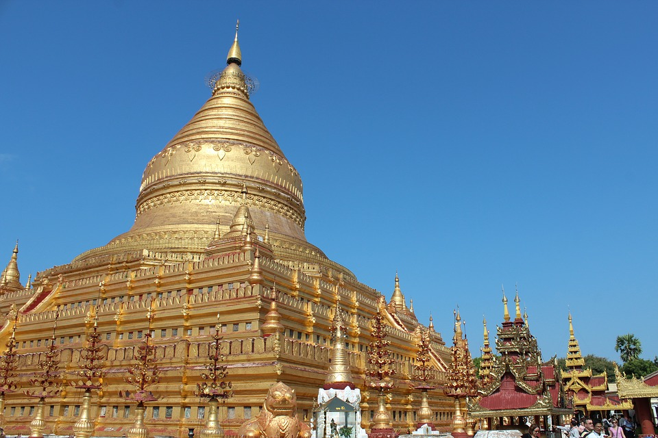 3. Shwedagon Pagoda, Burma