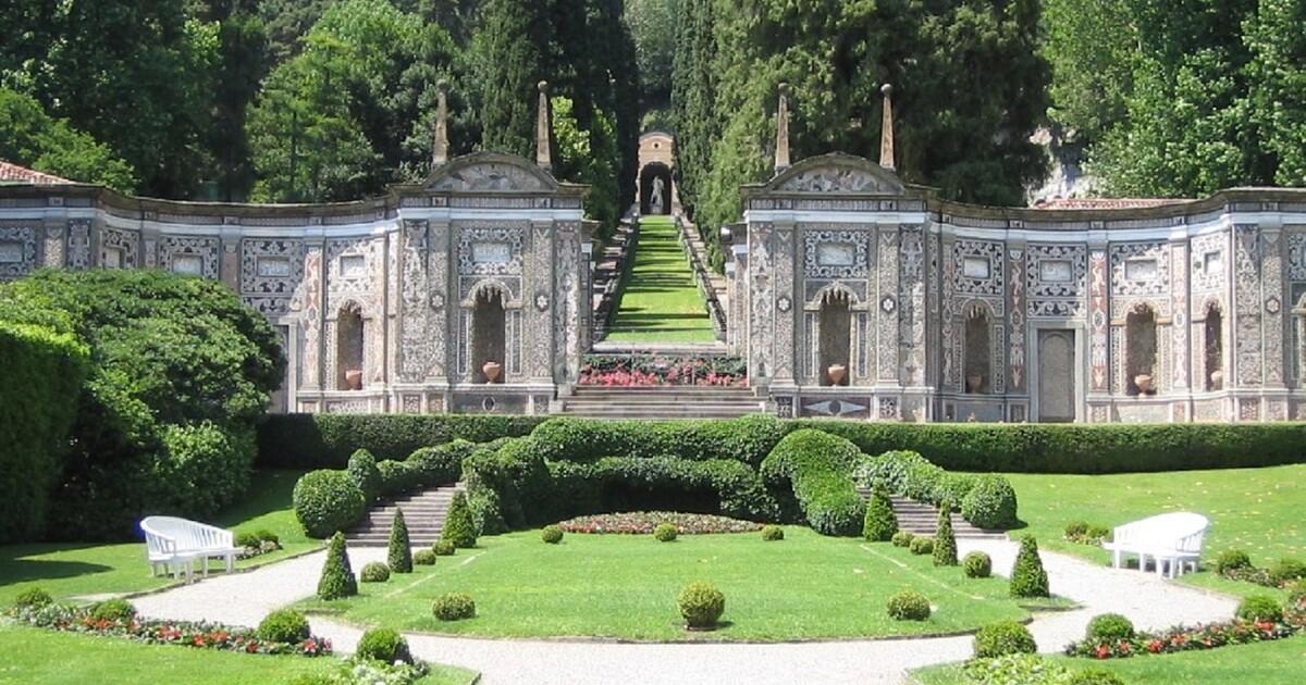 3. Villa d'Este Garden - Tivoli, Italy