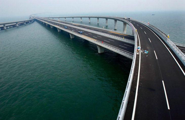 3. Weinam Weihe Bridge: 79.73 km