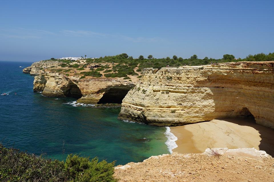 4. Benagil Caves - Portugal