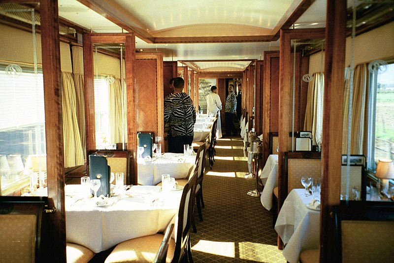 4. Blue Train (South Africa)