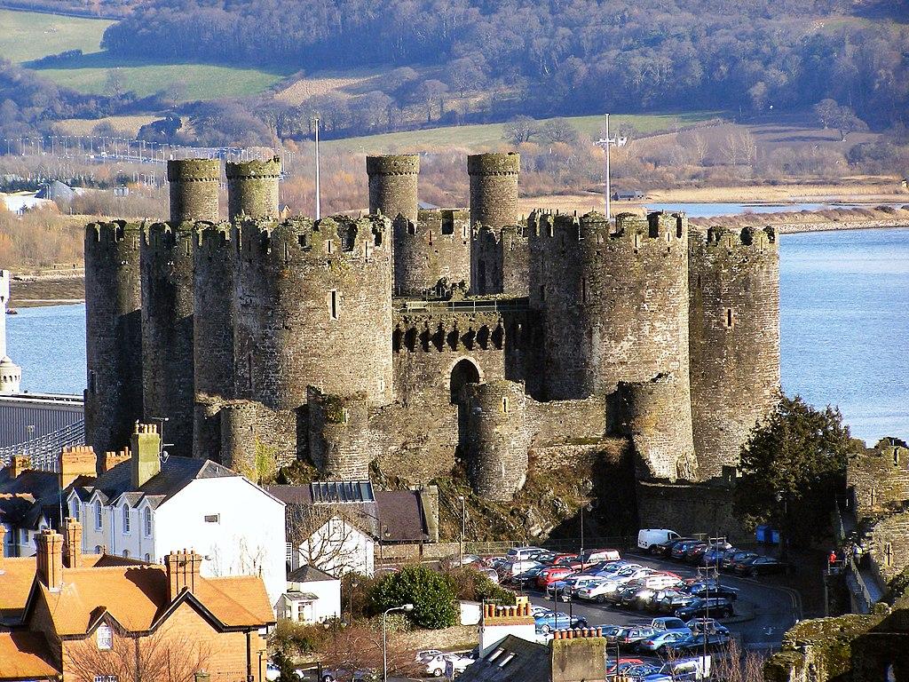 4. Conwy Castle, Wales