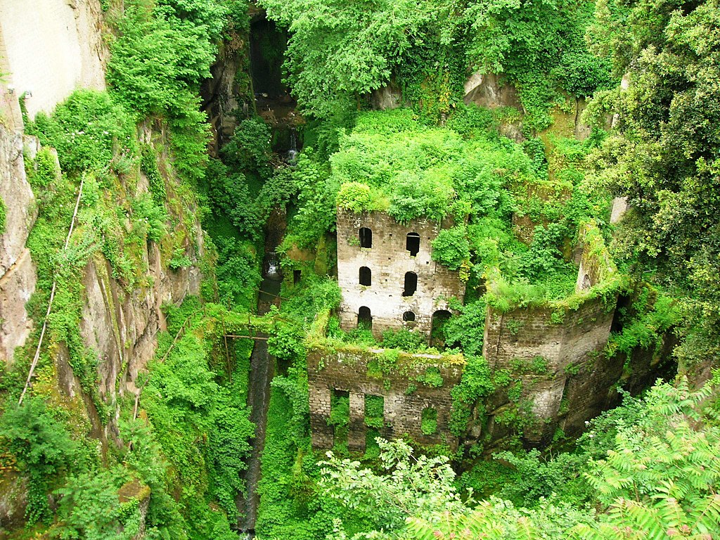 4. Deep Valley of the Mills of Sorrento, Italy